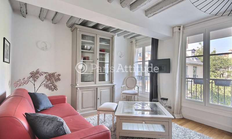 Rent Apartment 1 Bedroom 38m² rue Marsollier, 2 Paris