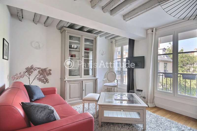 Louer Appartement meublé 1 Chambre 38m² rue Marsollier, 75002 Paris