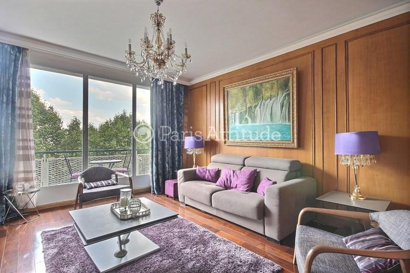 Location Appartement 2 Chambres 80m² quai Louis Bleriot, 75016 Paris