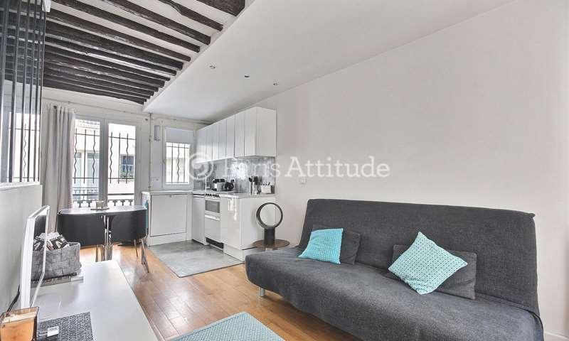 Location Appartement 1 Chambre 30m² rue des Petits Carreaux, 2 Paris