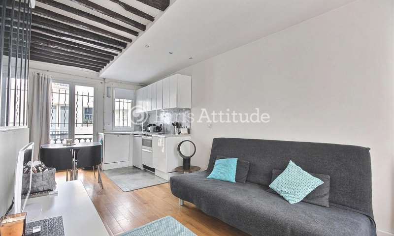 Rent Apartment 1 Bedroom 30m² rue des Petits Carreaux, 75002 Paris