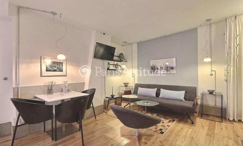 Location Appartement 1 Chambre 34m² rue des Rosiers, 75004 Paris