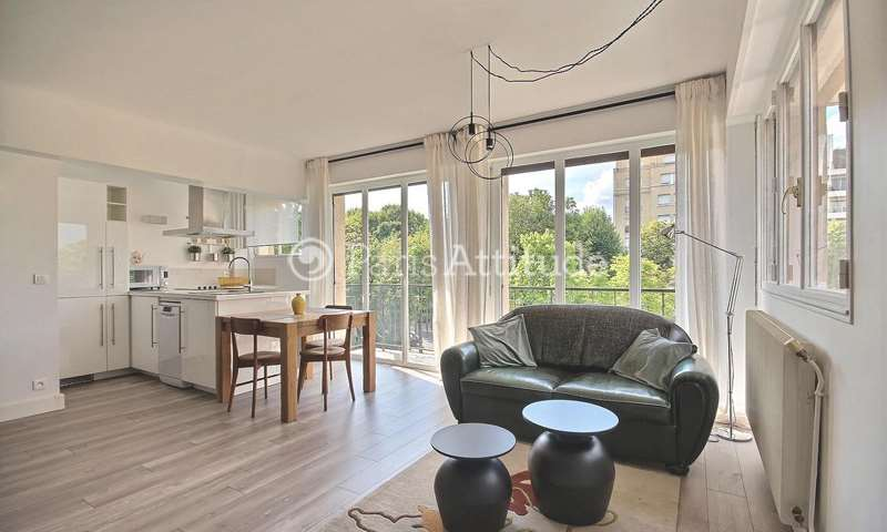 Rent Apartment 1 Bedroom 45m² boulevard de Saussaye, 92200 Neuilly sur Seine
