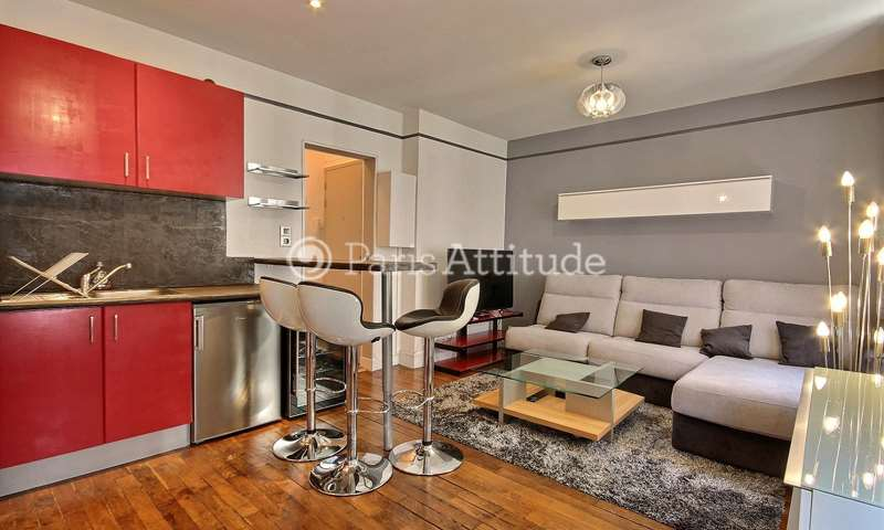 Rent Apartment 1 Bedroom 35m² rue Troyon, 75017 Paris
