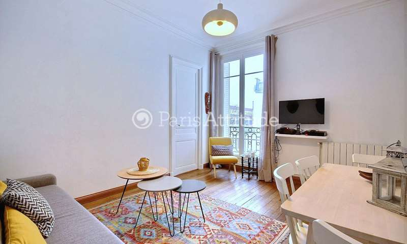 Rent Apartment 1 Bedroom 41m² rue Fauvet, 18 Paris