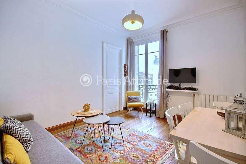 Louer Appartement meublé 1 Chambre 41m² rue Fauvet, 75018 Paris