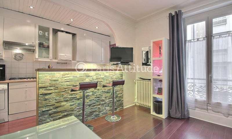 Rent Apartment 1 Bedroom 40m² rue Brey, 17 Paris