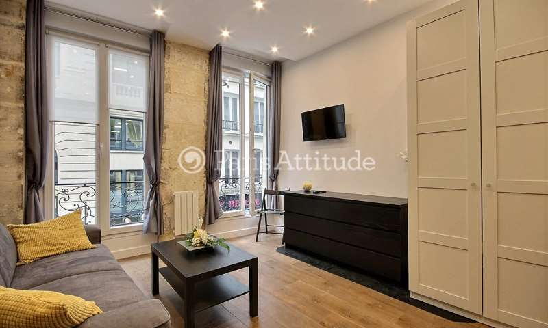 Rent Apartment Studio 26m² rue Poissonniere, 75002 Paris