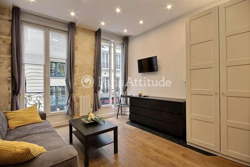 Rent furnished Apartment Studio 26m² rue Poissonniere, 75002 Paris
