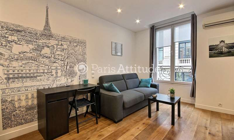 Rent Apartment Studio 26m² rue Poissonniere, 2 Paris