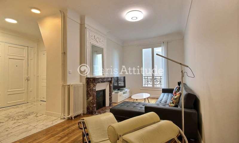 Rent Apartment 2 Bedrooms 67m² rue de Boulainvilliers, 16 Paris