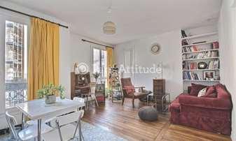 Rent Apartment 1 Bedroom 46m² boulevard Ornano, 18 Paris