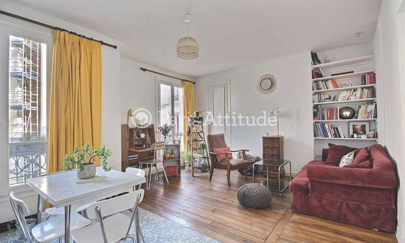 Rent Apartment 1 Bedroom 46m² boulevard Ornano, 75018 Paris