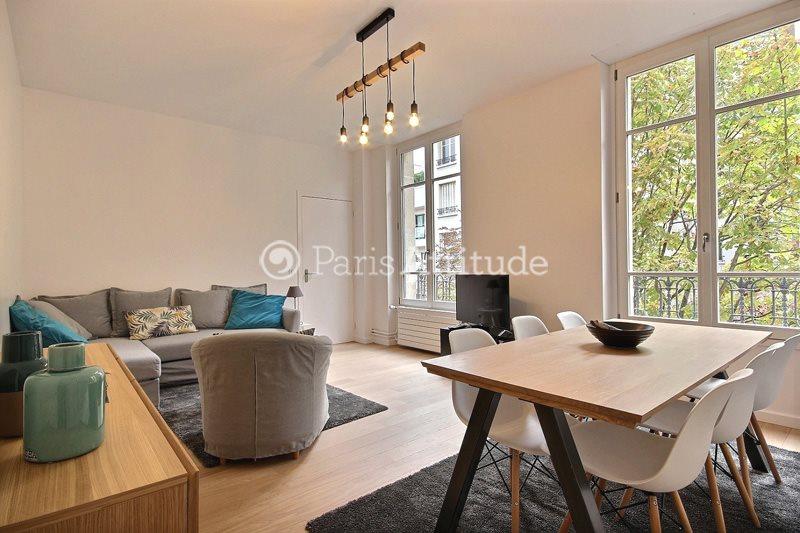 Rent furnished Apartment 2 Bedrooms 57m² boulevard du château, 92200 Neuilly sur Seine