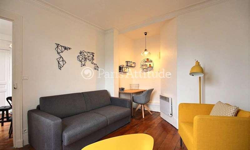 Rent Apartment Studio 24m² rue Henner, 75009 Paris