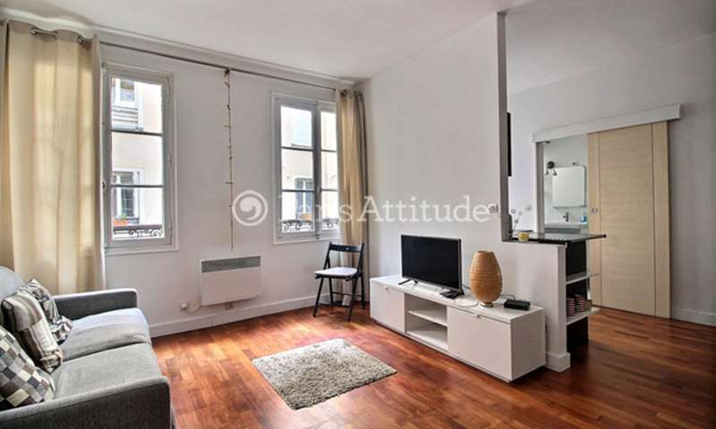 Rent Apartment Studio 26m² rue Keller, 75011 Paris