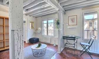 Rent Apartment 1 Bedroom 35m² rue des Archives, 3 Paris