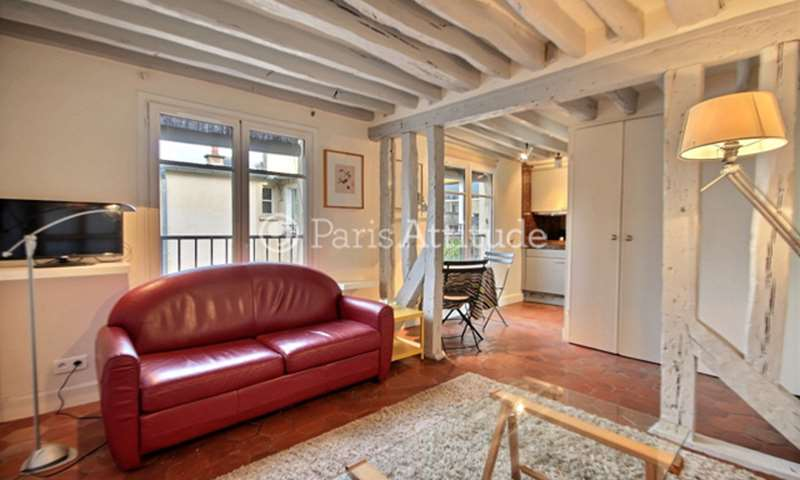 Rent Apartment 1 Bedroom 35m² rue des Archives, 3 Paris