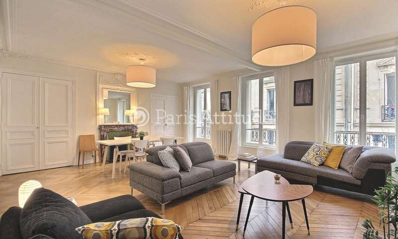 Location Appartement 3 Chambres 110m² rue Guichard, 75016 Paris