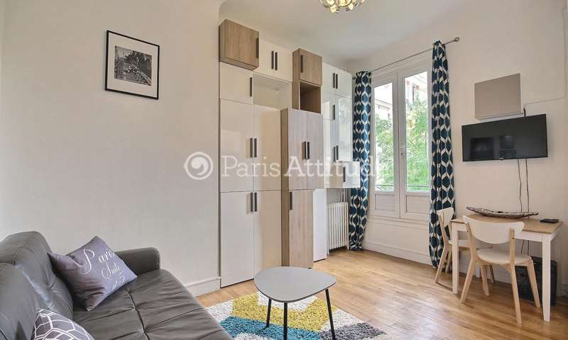 Rent Apartment 1 Bedroom 26m² rue Ganneron, 18 Paris