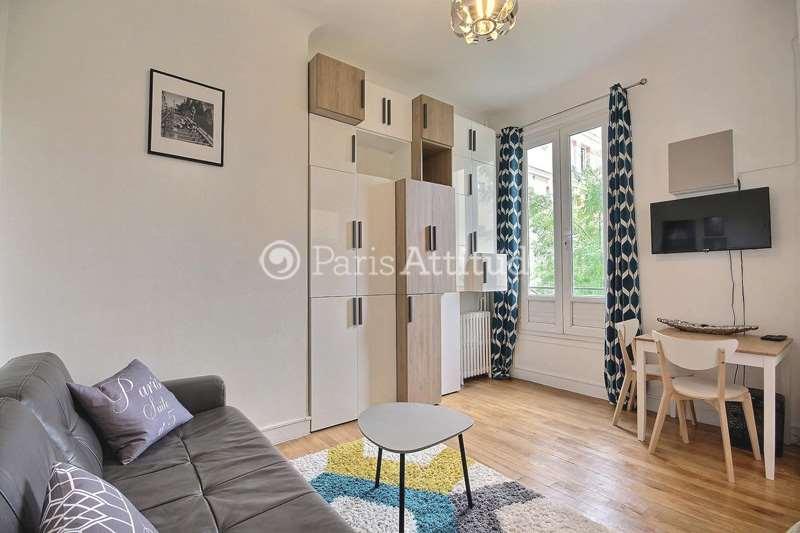 Louer Appartement meublé 1 Chambre 26m² rue Ganneron, 75018 Paris