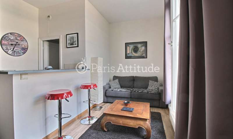Rent Apartment Alcove Studio 25m² rue de Rome, 75008 Paris
