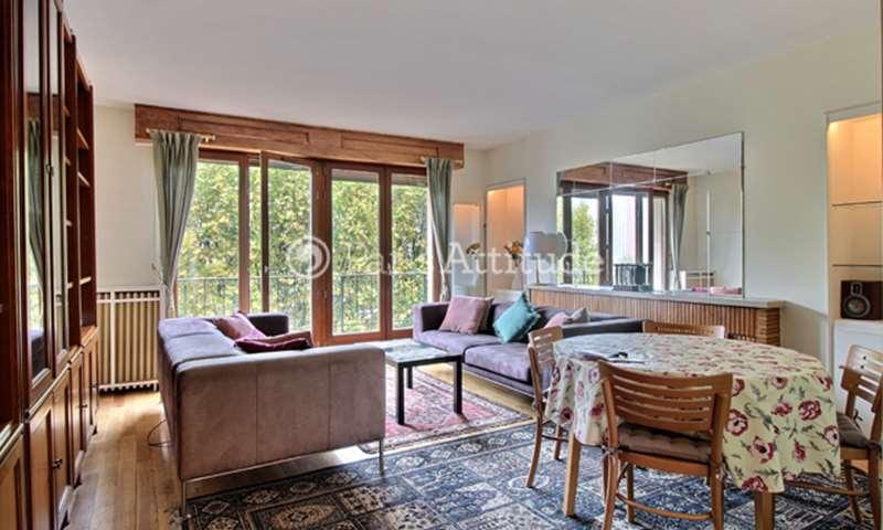 Rent Apartment 2 Bedroom 70m² quai Louis Bleriot, 75016 Paris