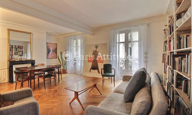Rent Apartment 2 Bedroom 84m² rue du Cardinal Mercier, 75009 Paris