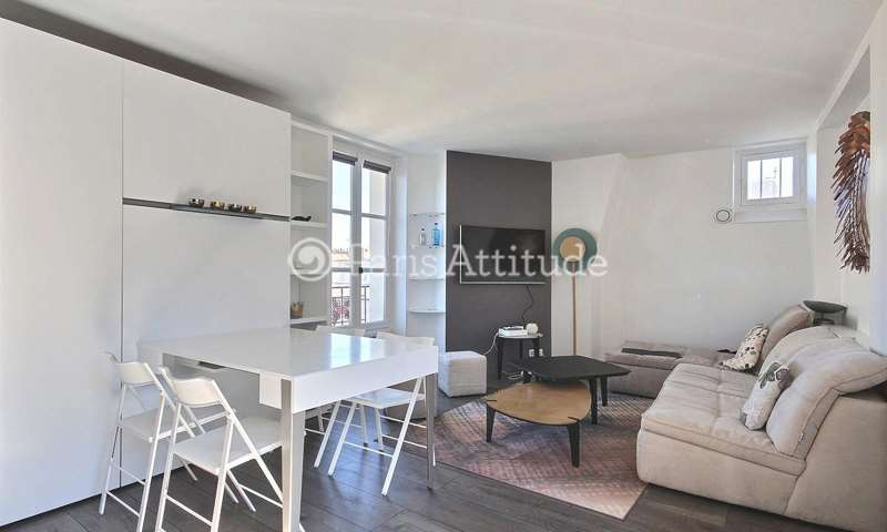 Rent Apartment 1 Bedroom 42m² rue Charlemagne, 75004 Paris