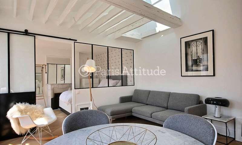 Rent Apartment 1 Bedroom 43m² rue Sainte Anastase, 75003 Paris