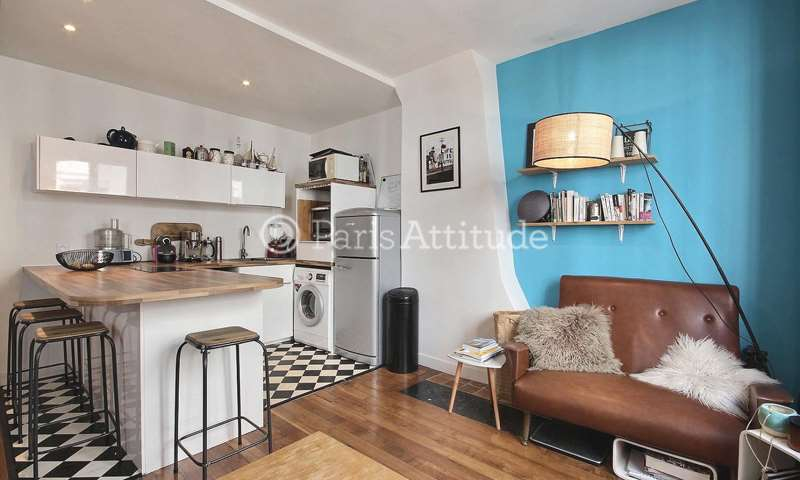Rent Apartment 1 Bedroom 32m² avenue Jean Jaures, 75019 Paris
