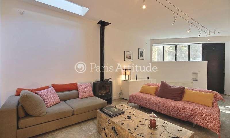 Location Triplex 2 Chambres 100m² rue Leibniz, 18 Paris