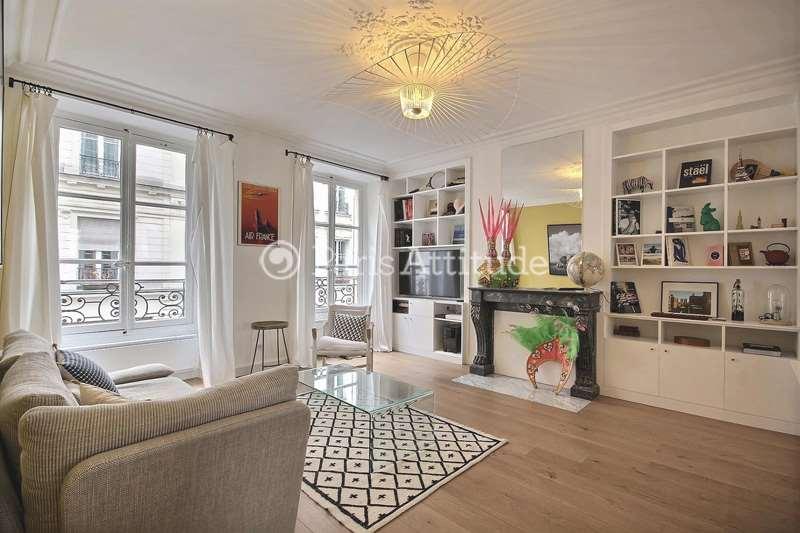 Rent furnished Apartment 1 Bedroom 56m² rue Martel, 75010 Paris