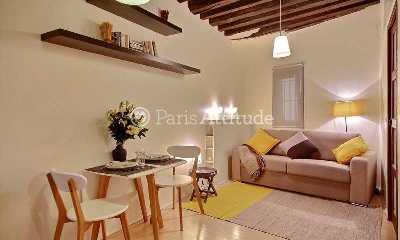 Rent Apartment Studio 20m² rue Saint Denis, 1 Paris