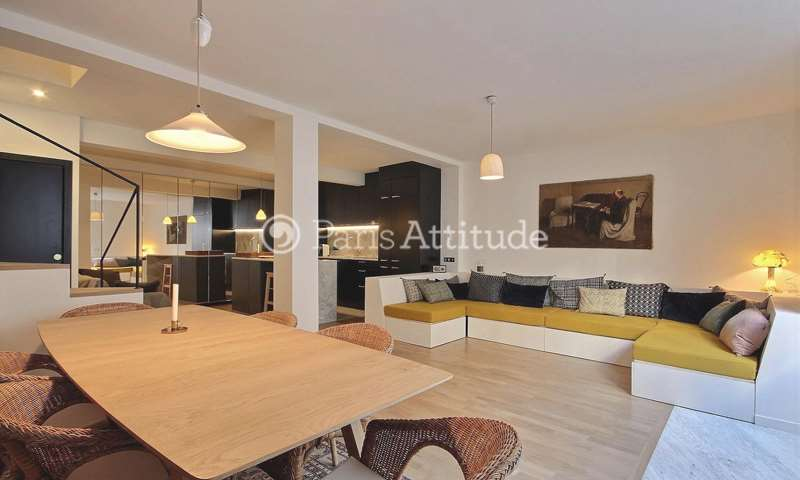 Rent Duplex 3 Bedrooms 105m² rue Monsieur Le Prince, 6 Paris