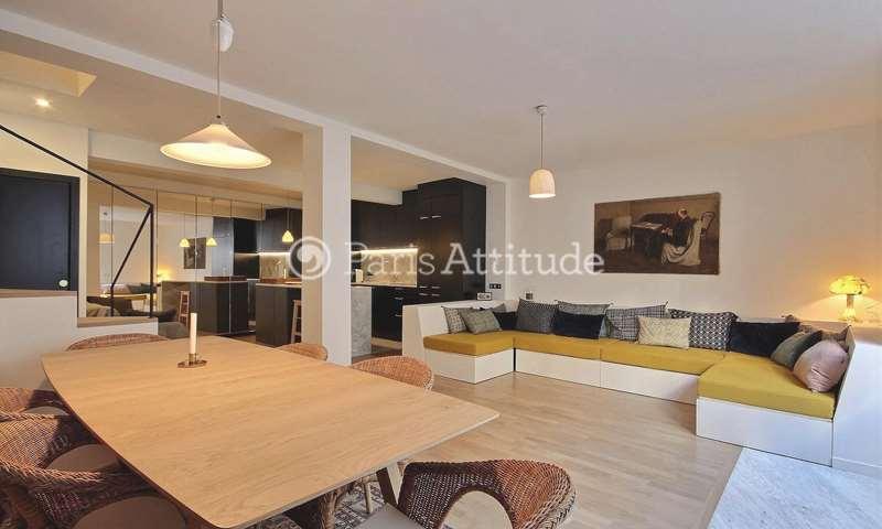 Rent Duplex 3 Bedroom 105m² rue Monsieur Le Prince, 75006 Paris