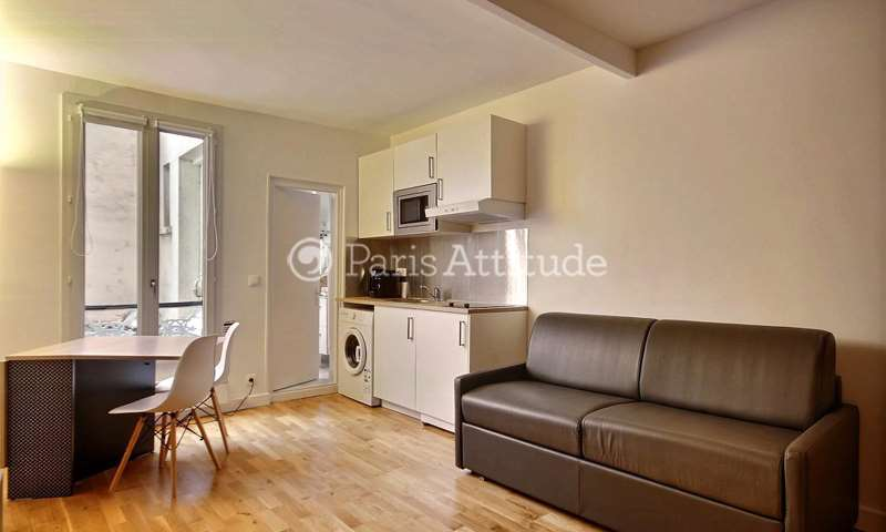 Rent Apartment Studio 21m² rue Descombes, 17 Paris