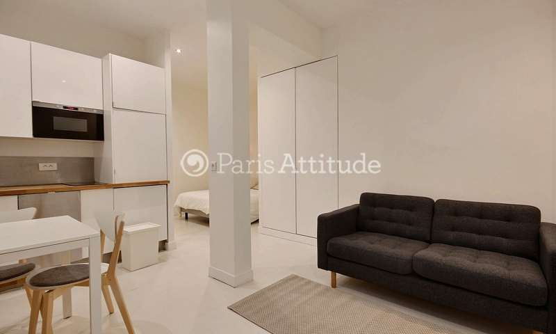 Location Appartement Alcove Studio 24m² rue Saint Joseph, 75002 Paris