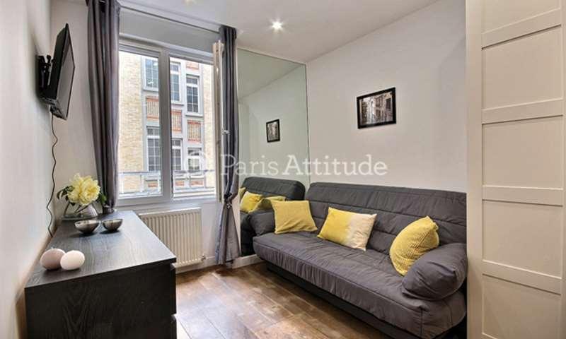 Location Appartement Studio 16m² rue Poissonniere, 2 Paris