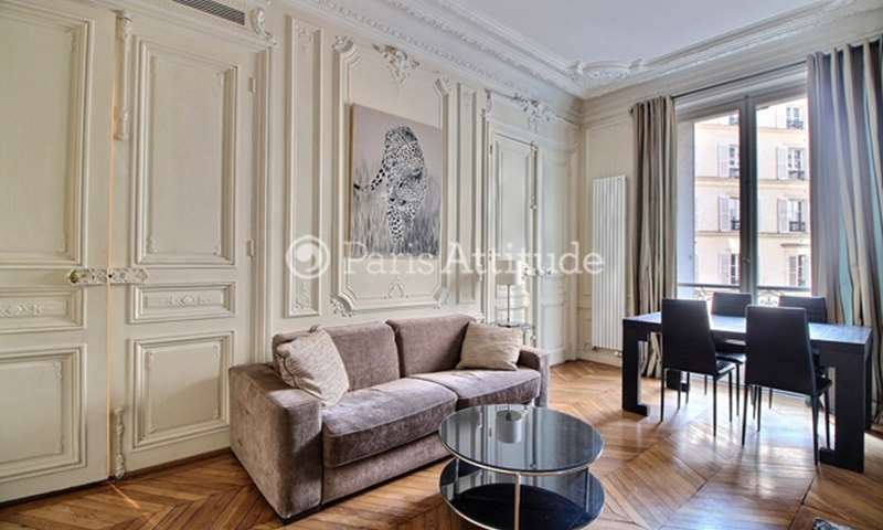 Rent Apartment 1 Bedroom 45m² rue de Ponthieu, 75008 Paris