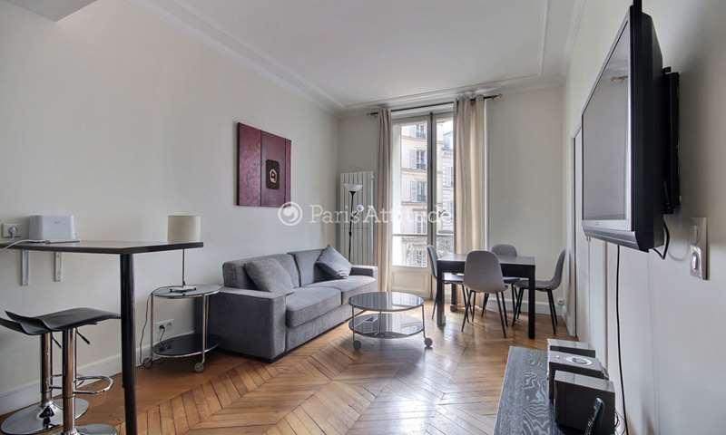 Rent Apartment 1 Bedroom 45m² rue de Ponthieu, 75008 Paris