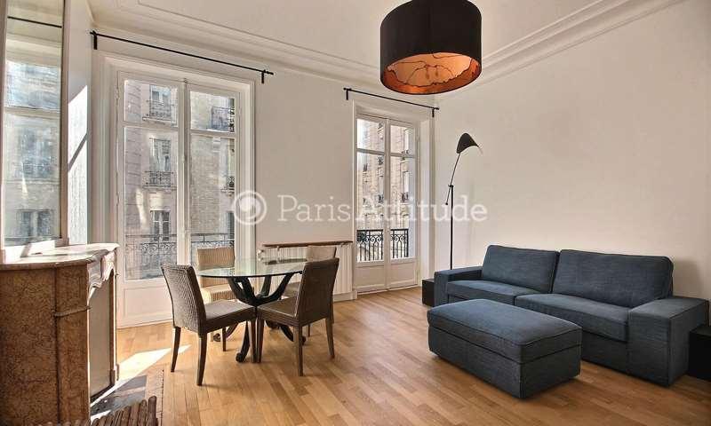 Rent Apartment 2 Bedrooms 68m² rue Erlanger, 16 Paris