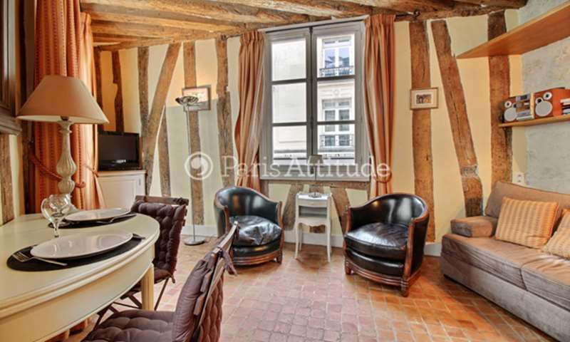 Location Appartement Studio 19m² rue Saint Roch, 75001 Paris