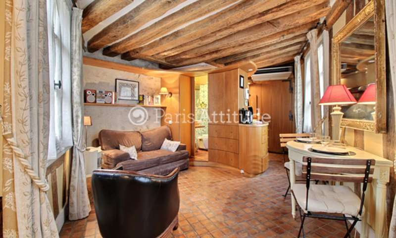 Rent Apartment Studio 19m² rue Saint Roch, 75001 Paris