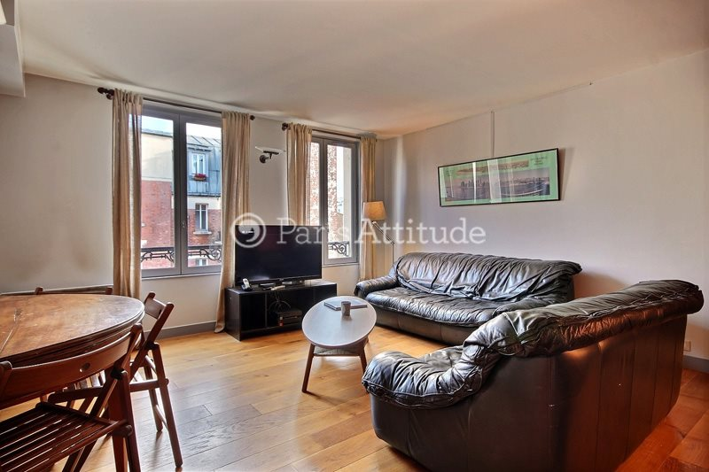 Rent furnished Apartment 2 Bedrooms 60m² rue du Commerce, 75015 Paris