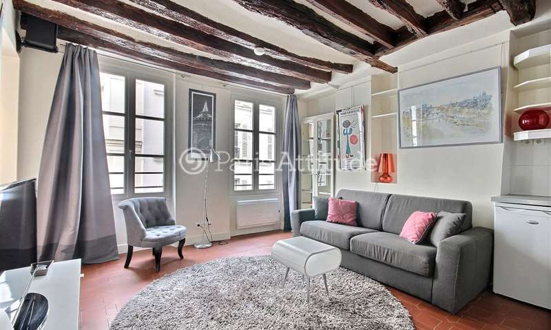 Rent Apartment 1 Bedroom 30m² rue Debelleyme, 75003 Paris