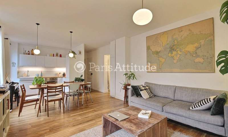 Rent Apartment 2 Bedrooms 70m² rue des Pyrenees, 20 Paris