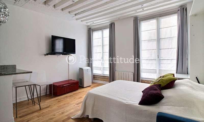 Rent Apartment Studio 25m² rue des Innocents, 1 Paris