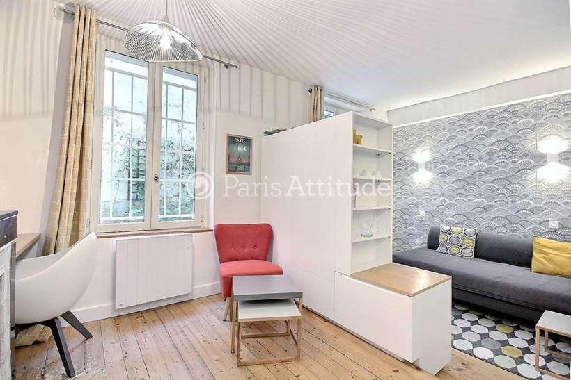 Louer Appartement meublé Studio 22m² passage Cottin, 75018 Paris
