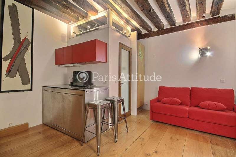 Aluguel Apartamento mobiliado Quitinete 16m² rue Saint Honore, 75001 Paris